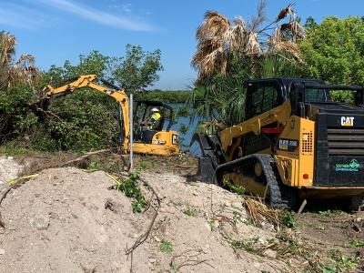 southern environmental cat equipment at work