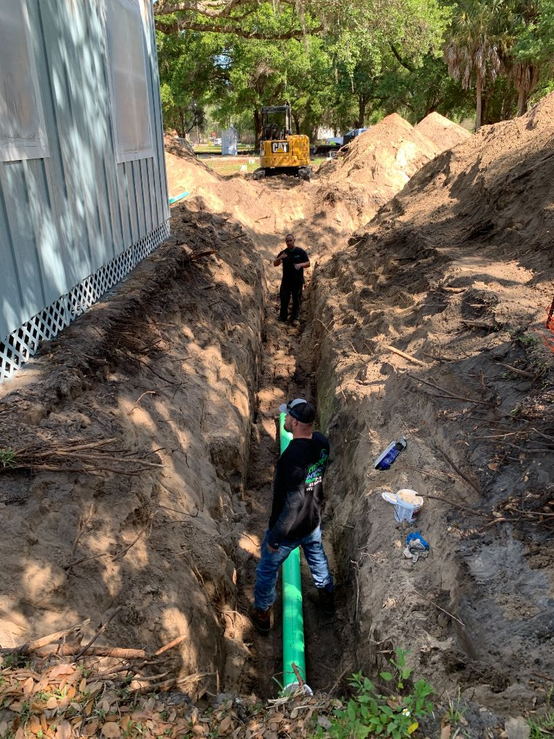 ditch-digging