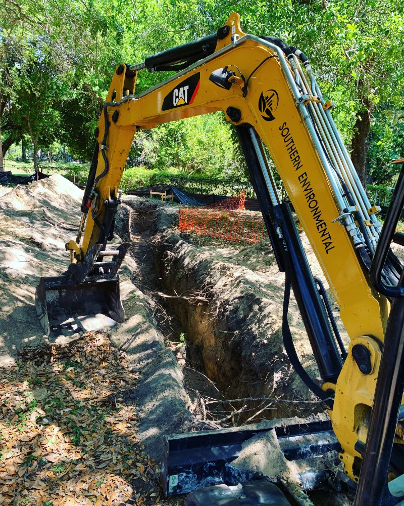 excavator-digging